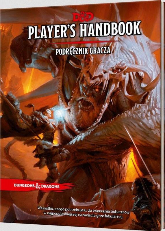 Dungeons&Dragons: Players Handbook Podr. Gracza ZAKŁADKA DO KSIĄŻEK GRATIS DO KAŻDEGO ZAMÓWIENIA