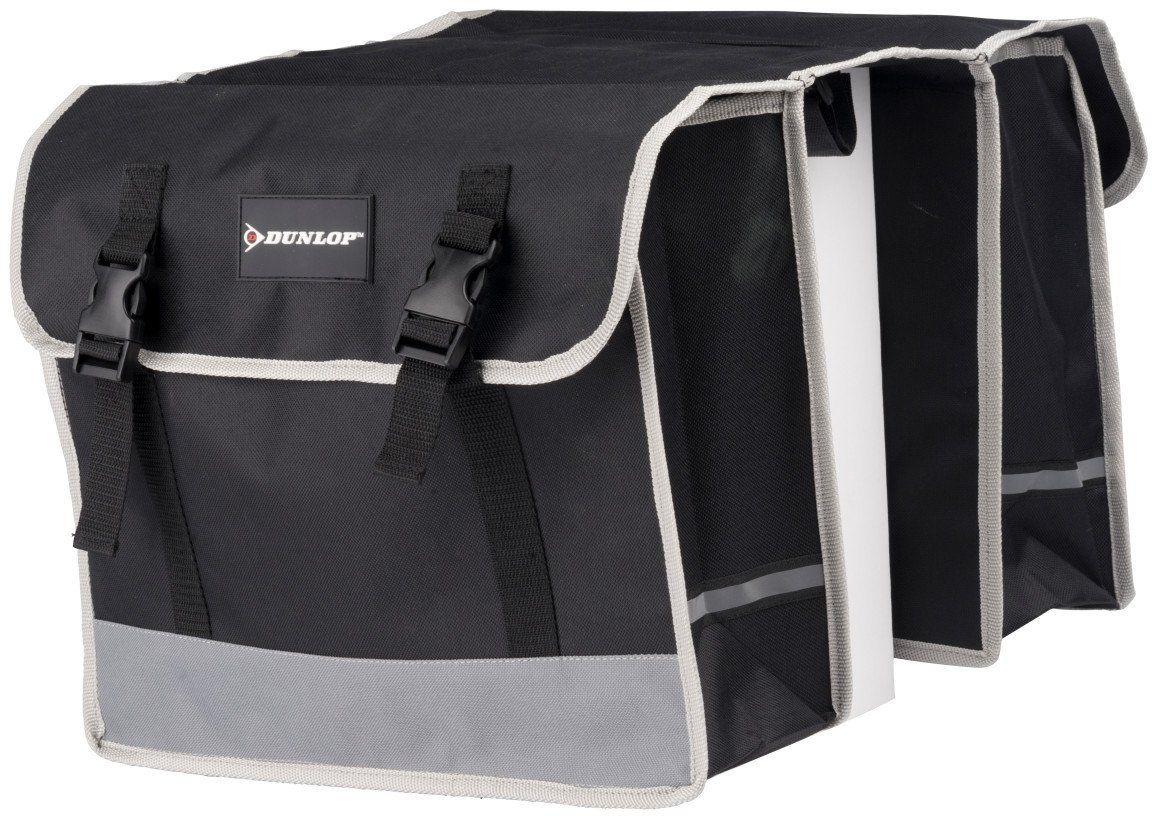 Podwójna torba rowerowa bagażnik Dunlop