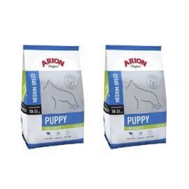 Pakiet Arion Original Chicken & Rice Medium Puppy 2 x 3 kg