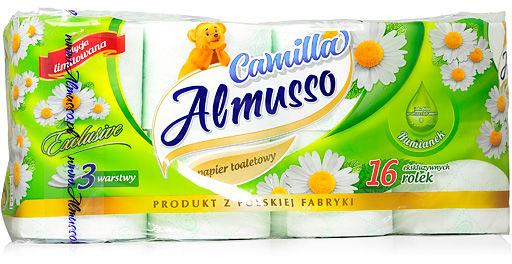 V Papier toaletowy Rumiankowy, Almusso 16 szt.