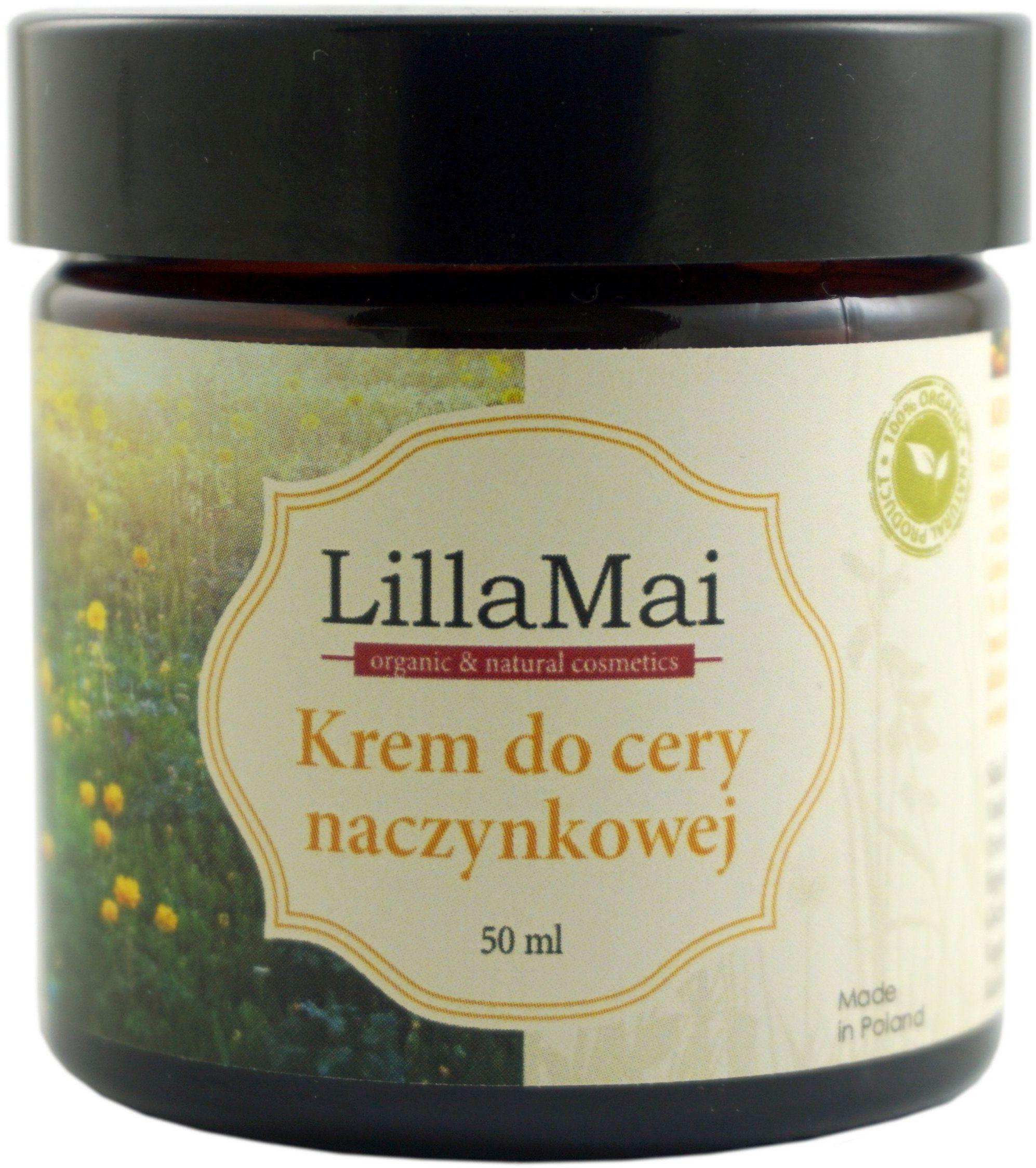 Krem do cery naczynkowej - 50 ml - LillaMai