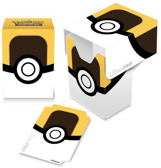 Deck Box Pokemon - Ultra Ball ZAKŁADKA DO KSIĄŻEK GRATIS DO KAŻDEGO ZAMÓWIENIA
