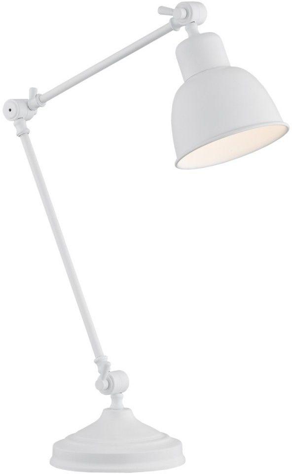 Lampa biurkowa 1X60W E27 Biała 3194 EUFRAT ARGON