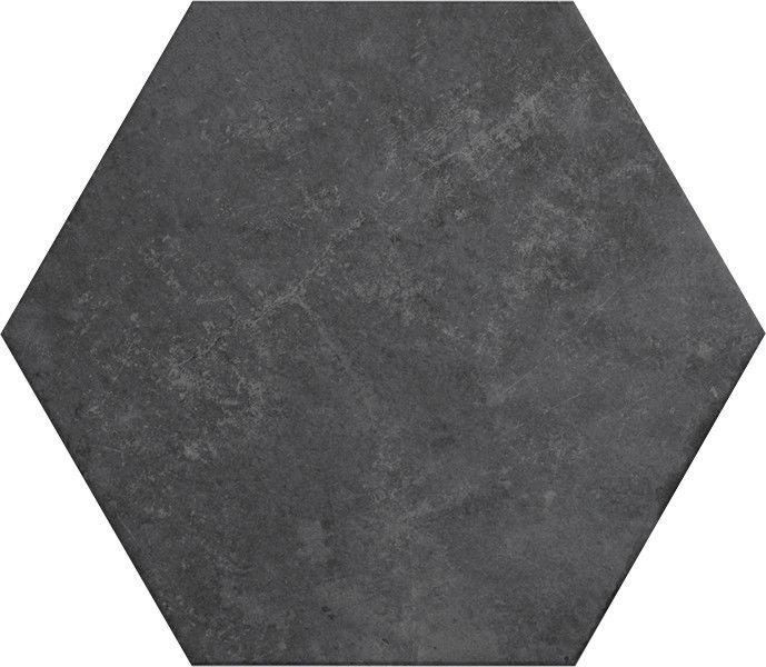 Heritage Carbon 17,5x20 płytki heksagonalne
