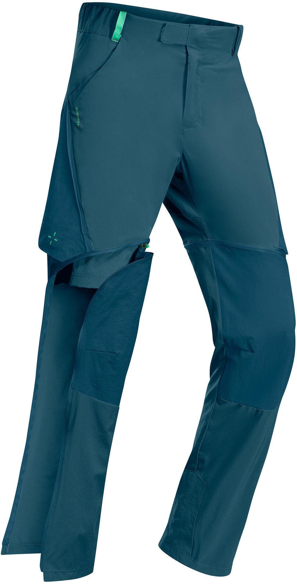 Spodnie turystyczne dla dzieci Quechua MH550 2w1 - 7-15 lat