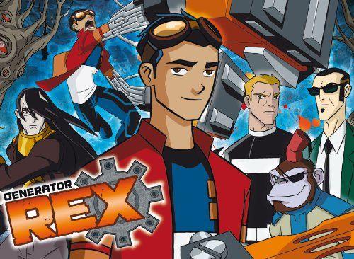 Clementoni Puzzle 23595  104 sztuk Maxi  Superpower  generator Rex.