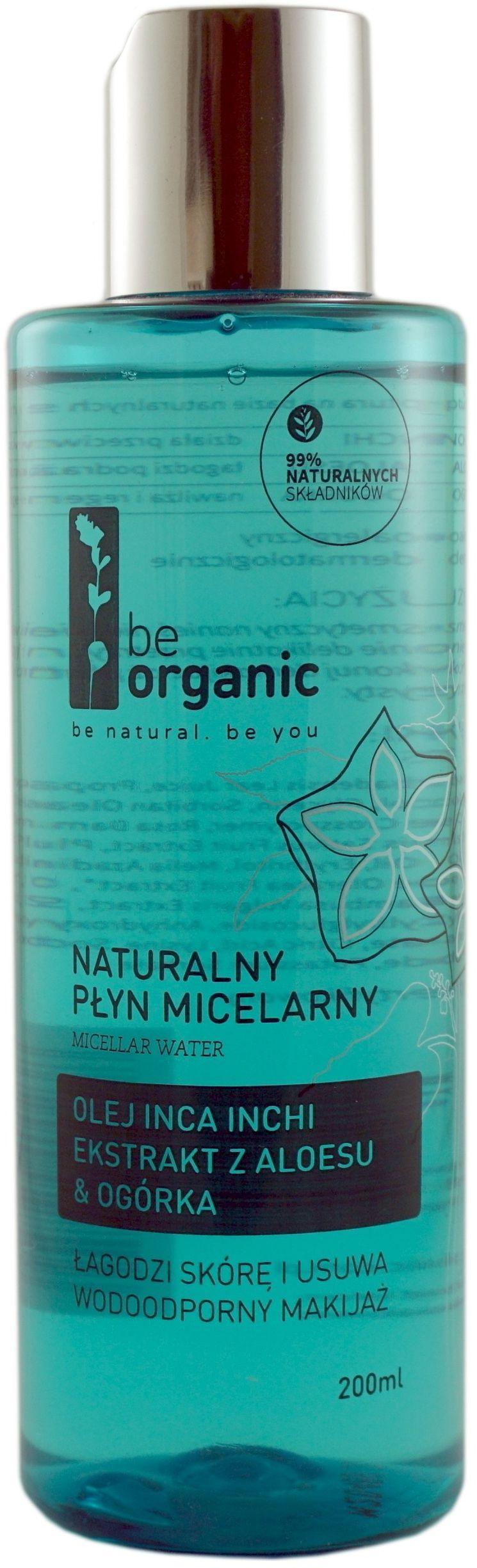 Naturalny Płyn Micelarny 200ml - Be Organic