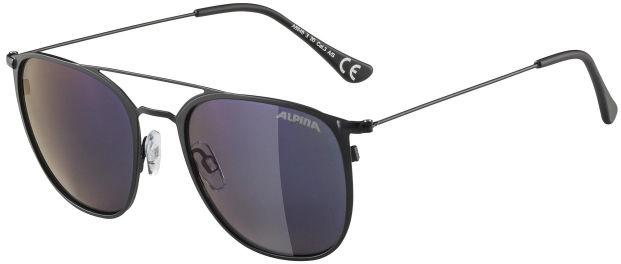 Alpina Zuku Black Matt/Blue Mirror