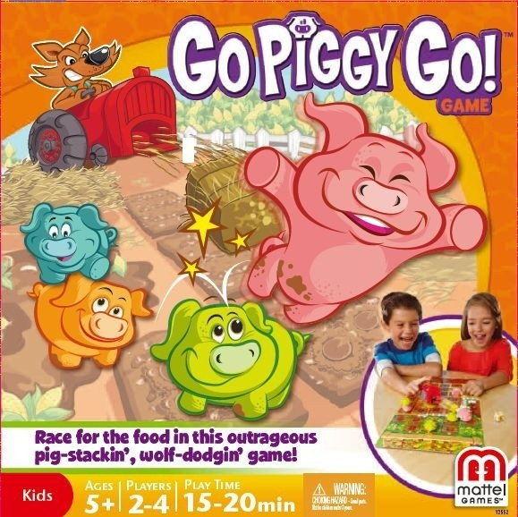 Uciekajace Świnki gra Mattel Y2552
