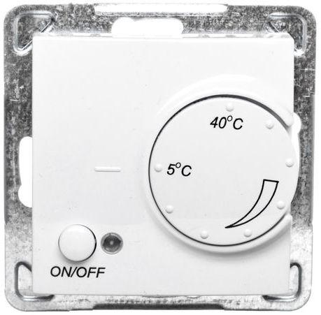 IMPRESJA Regulator temperatury /czujnik napowietrzny/ biały RTP-1YN/m/00