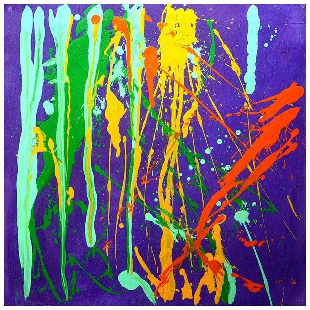 Legendarte ręcznie robiony obraz olejny - plamy Gost-cm. 50 x 50, wielokolorowa