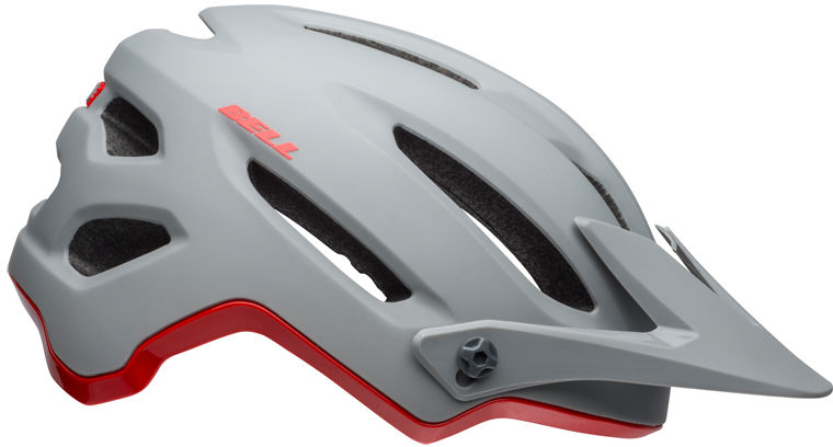 Kask rowerowy mtb BELL 4FORTY INTEGRATED MIPS cliffhanger matte gloss gray crimson Rozmiar: 55-59,4fortymipsgraycrimson