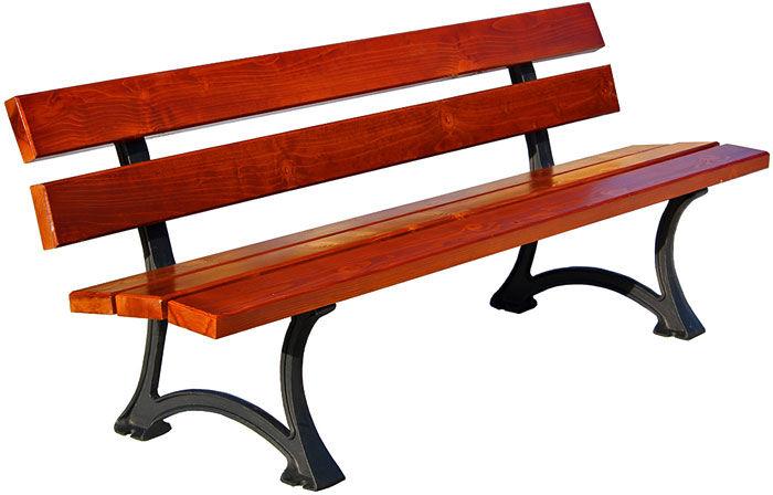 Ławka drewniana ogrodowa Flavia 2X 150 cm - 7 kolorów