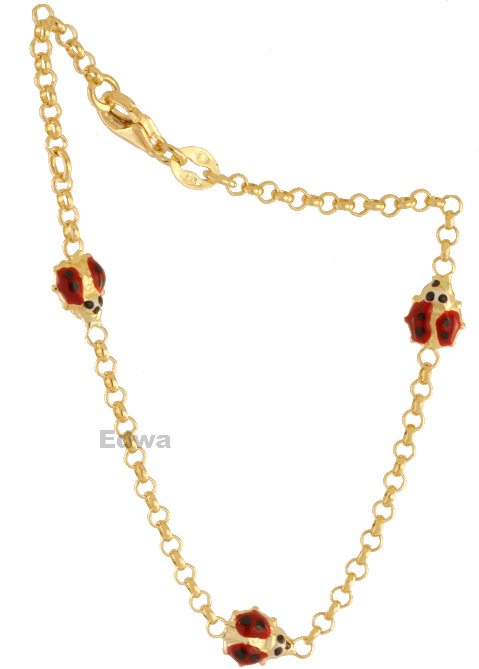 Bransoletka złota Biedroneczki pr.585