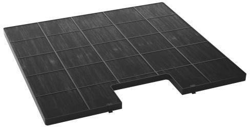 Kernau - Filtr węglowy TYP 5 - 300x280 mm (1 szt.)