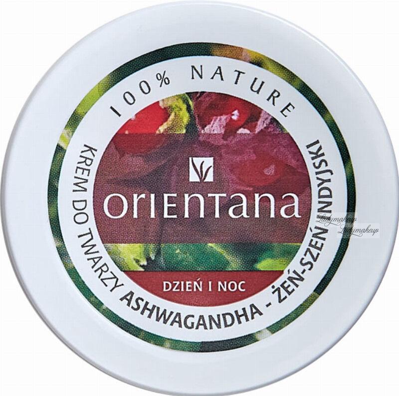 ORIENTANA - Day & Night Face Cream - Krem do twarzy na dzień i na noc - Żeń-Szeń Indyjski - 40 g