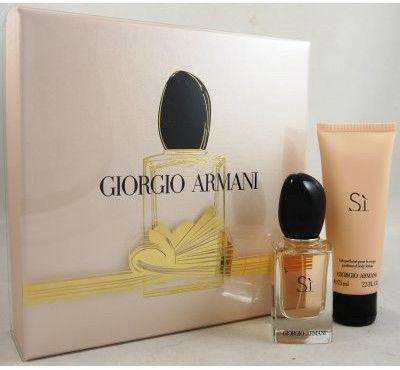 Giorgio Armani Si balsam do ciała 75ml + woda perfumowana - 30ml - Darmowa Wysyłka od 149 zł