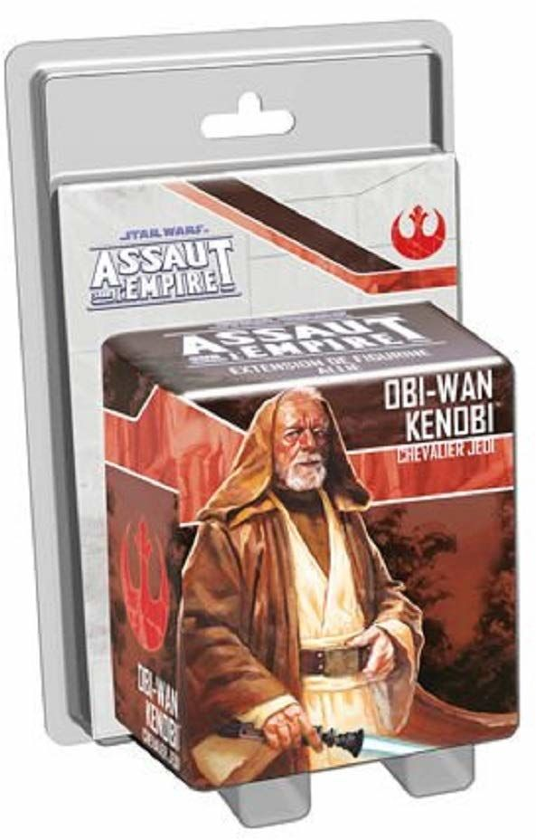 Asmodee  Star Wars Assaut Empire  Obi-Wan Kenobi, Chevalier Jedi, FFSWI29