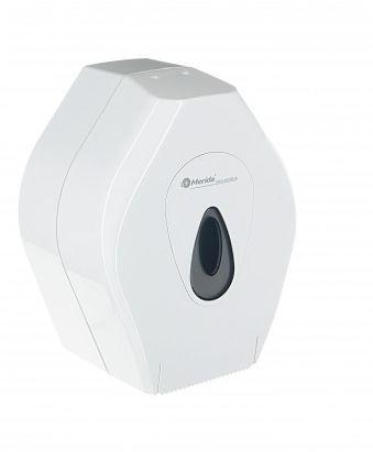 Pojemnik na papier toaletowy Merida Top mini, okienko szare