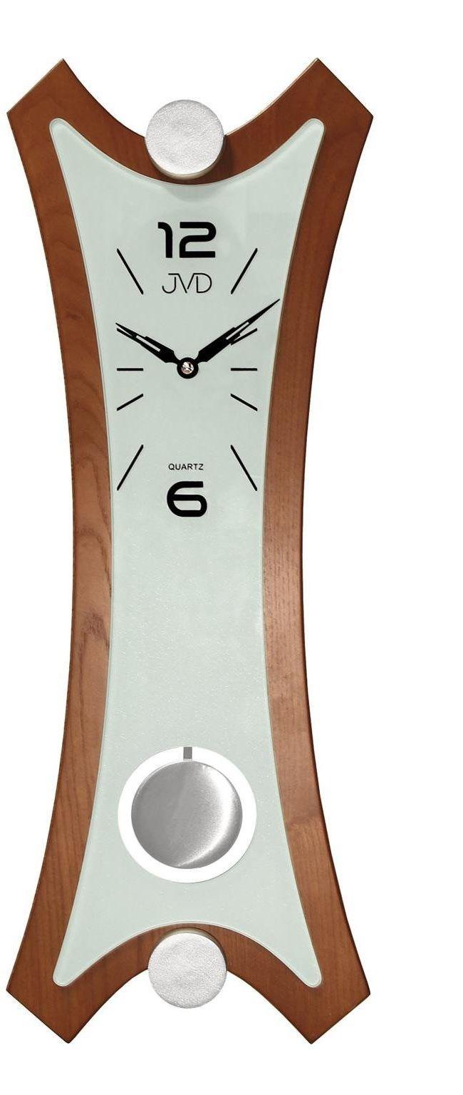 Zegar ścienny JVD N16010.1 z wahadłem