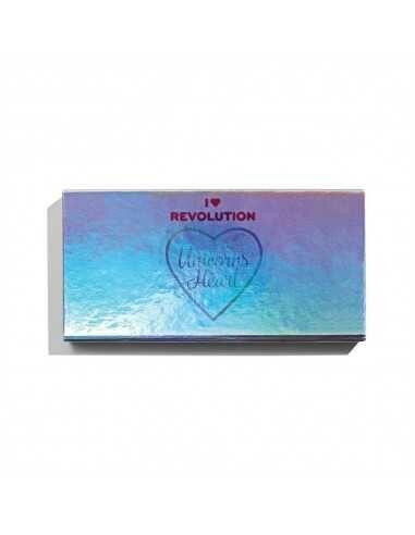 Makeup Revolution paleta cieni do powiek Unicorns Heart