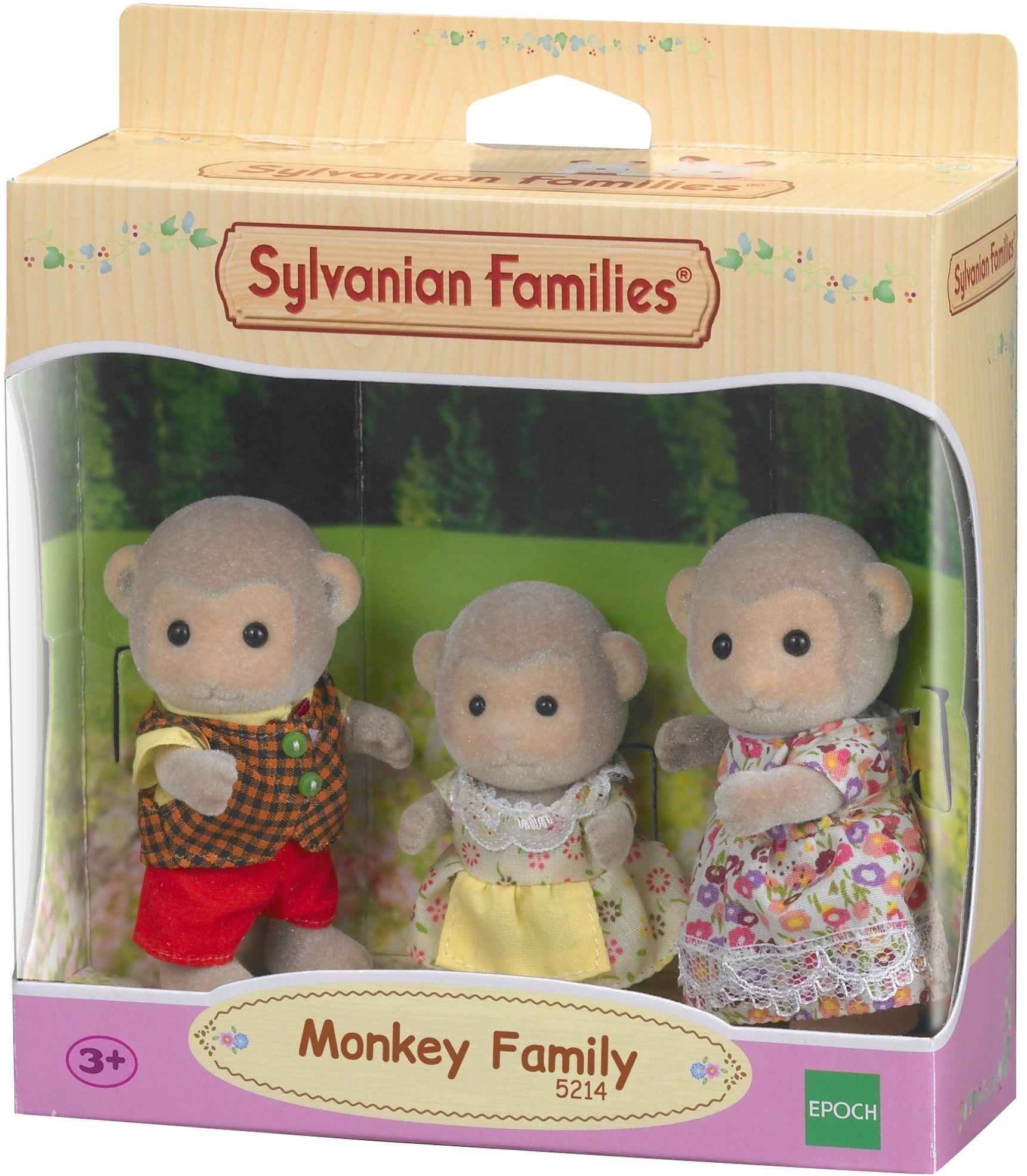 Sylvanian Families 5214 Rodzina małpek