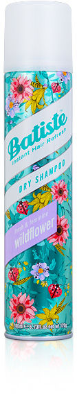Batiste Wildflower Dry Shampoo Suchy szampon o zapachu dzikich kwiatów 200 ml