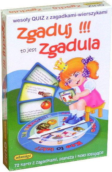 ADAMIGO Gra Quiz Zgaduj Zgadula (6151)