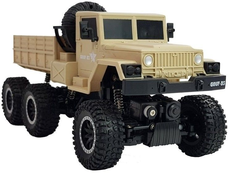 Ciężarówka Wojskowa Zdalnie Sterowana R/C 1:12 6x6