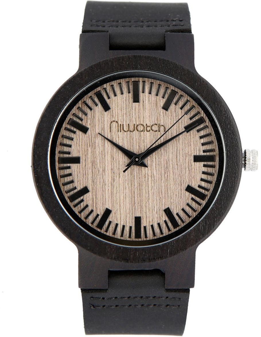Męski zegarek drewniany Niwatch BASIC