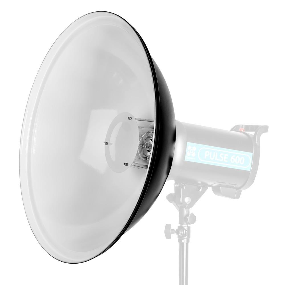 Quadralite Beauty Dish 42cm - czasza biała / mocowanie typu Bowens Quadralite Beauty Dish 42cm / biała