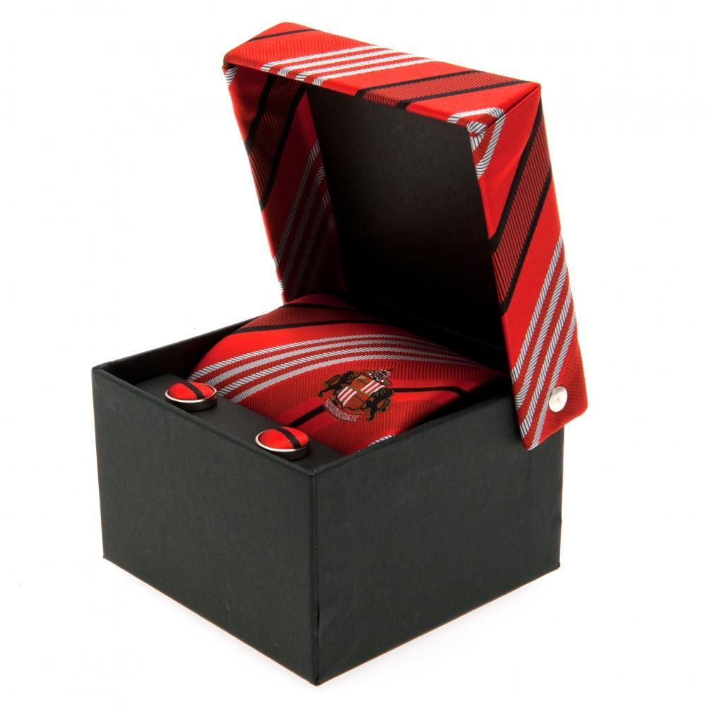 Sunderland AFC - krawat + spinki