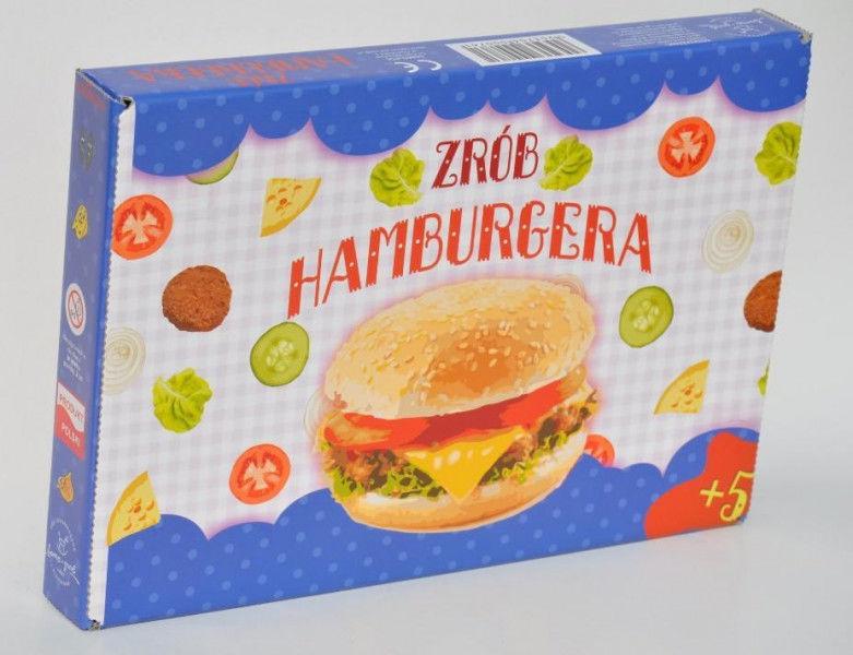 Gra - Zrób Hamburgera ZAKŁADKA DO KSIĄŻEK GRATIS DO KAŻDEGO ZAMÓWIENIA