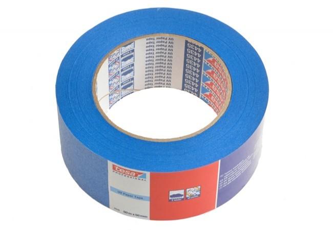 Taśma malarska Tesa do wew. 28 dni i na zew. 14 dni, niebieska, długość 50 m, szerokość 50 mm (04435-00018-00)
