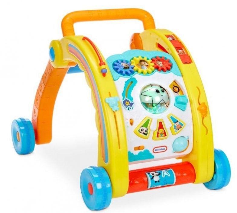 Little Tikes Baby Bum Interaktywny Chodzik 3w1 Pchacz Stół do Zabawy