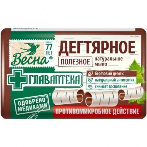 Mydło dziegciowe rosyjskie 90g