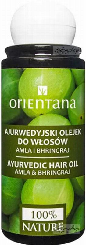 ORIENTANA - AYURVEDIC HAIR OIL - ALMA & BHRINGRAJ - Ajurwedyjski olejek do włosów - 105 ml