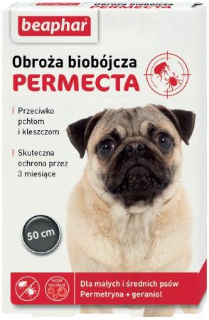 PERMECTA obroża biobójcza dla małych i średnich psów 50 cm