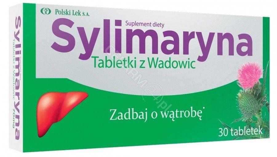 Sylimaryna tabletki z Wadowic 30 tabletek