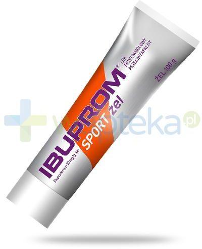 Ibuprom Sport 50mg/g żel przeciwbólowy i przeciwzapalny 100 g