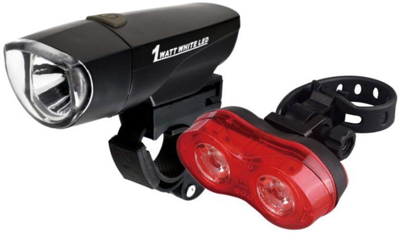 Zestaw lamp rowerowych X-Light diodowych 785+151R