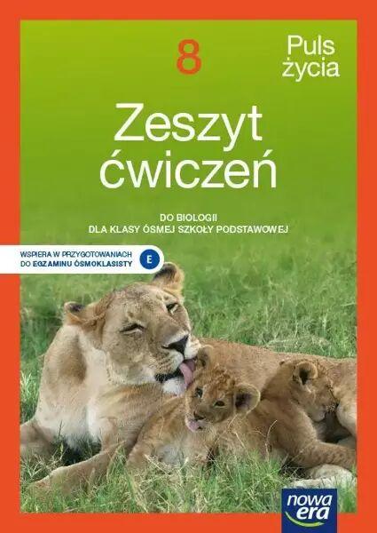 Biologia Puls życia zeszyt ćwiczeń dla klasy 8 szkoły podstawowej EDYCJA 2021-2023 - Jolanta Holeczek, Barbara Januszewska-Hasiec