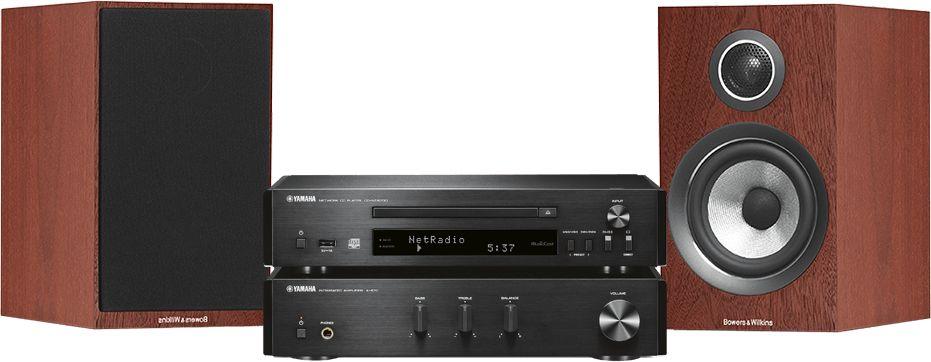 MusicCast PianoCraft MCR-N670D (czarny) + B&W 707 S2 (różany)  SALONY FIRMOWE W 13 MIASTACH  25 LAT NA RYNKU  DOSTAWA 0 zł  ODBIÓR OSOBISTY