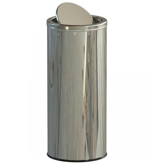 Kosz na śmieci 45L SWING stal połysk Kosze na odpady