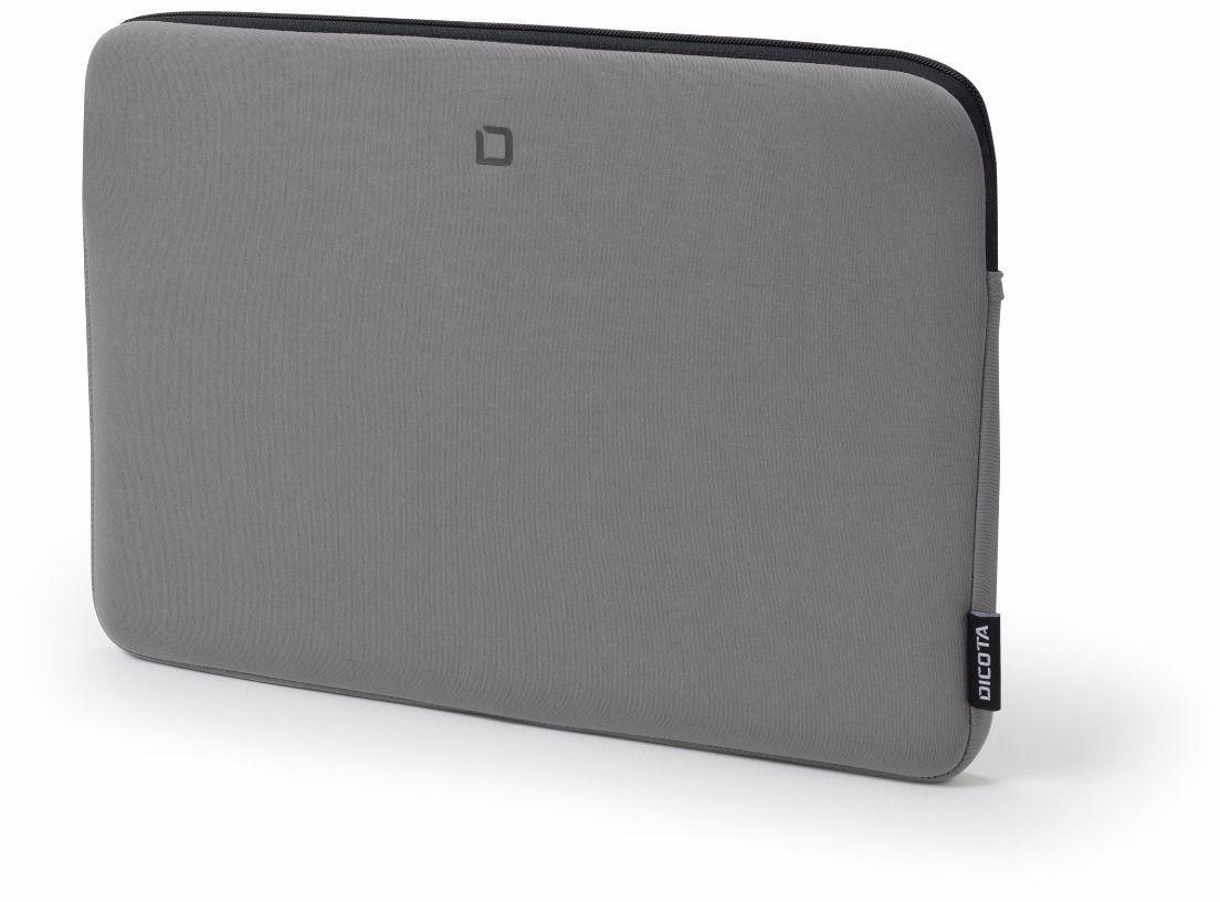 DICOTA Skin BASE, 15 15,6 cala, torba na laptopa, lekki pokrowiec, torba na laptopa, szara