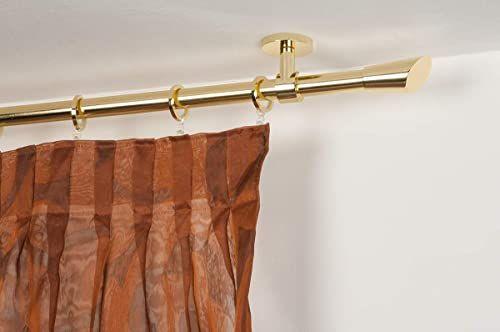 karnisz InCasa: Ø 20 mm, długość 140 cm, mosiądz polerowany