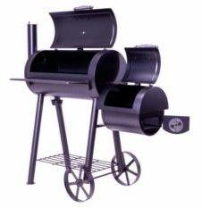 Grill z wędzarnią, grill ogrodowy XL, BBQ, rożen, wędzarnia (HUR-GZ35611)