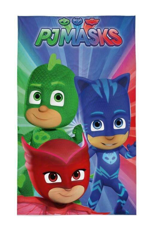 Ręczniczek do przedszkola 30x50 Pidżamersi PJ Masks Gekson Kotboy Sowella dziecięcy bawełniany 0656