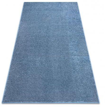 DYWAN - WYKŁADZINA SANTA FE niebieski 74 gładki, jednolity, jednokolorowy 100x150 cm