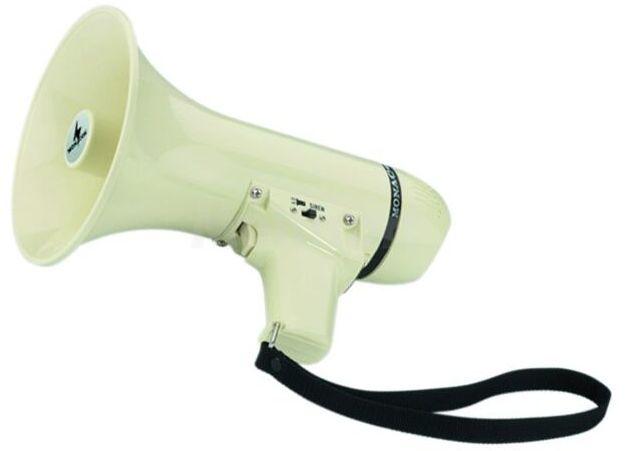 Mały megafon Monacor TM-6 z wbudowanym mikrofonem